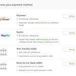 Вывод денег с Upwork: Payoneer, PayPal, Wire Transfer. Сравнение